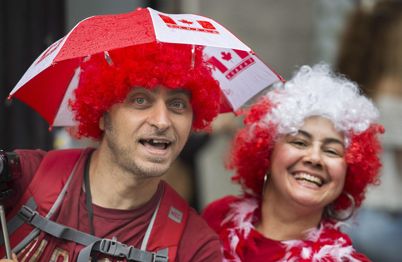 生日快乐 我的加拿大 国庆150周年众生相图片